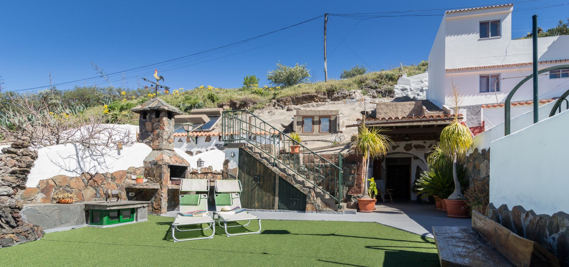 Rural cave house las margaritas holiday homes in gran - Houses in gran canaria ...